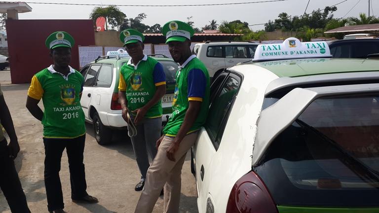 Les taximen de la commune d'Akanda aux couleurs de l'environnement @ Gabonactu.com