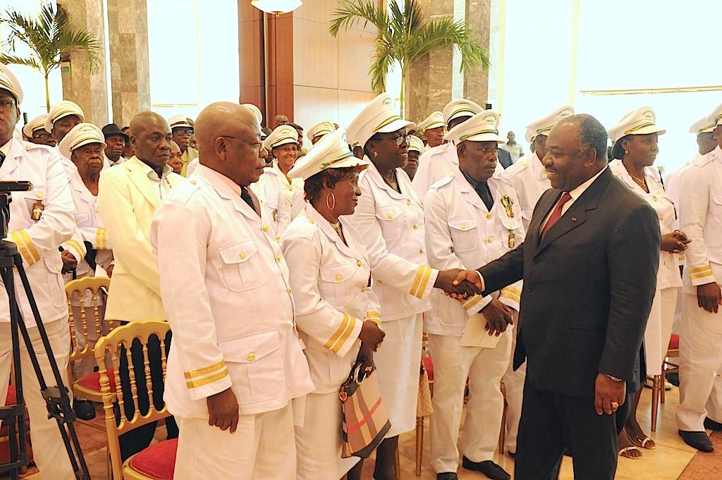 Ali Bongo sollicite le soutien de l'Estuaire