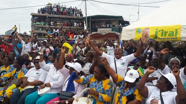 Le public a répondu présent à l'appel @ Gabonactu.com