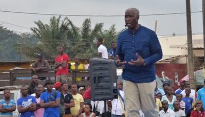 Raymond Ndong Sima au PK 8 @ Gabonactu.com