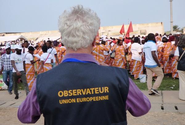 Pacôme Moubelet Boubeya « évangélise » les observateurs électoraux ce vendredi