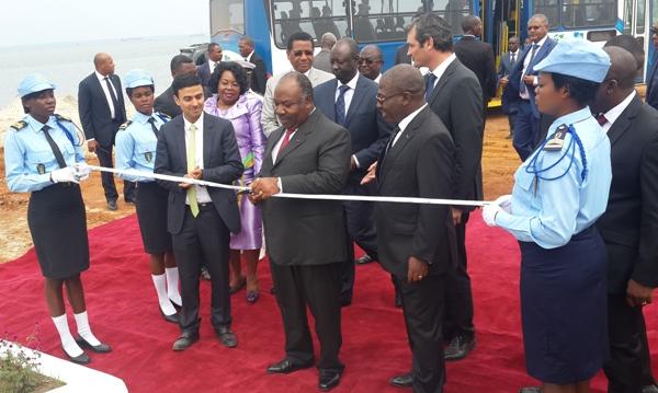 Inauguration d'un nouveau Port minéralier à Owendo