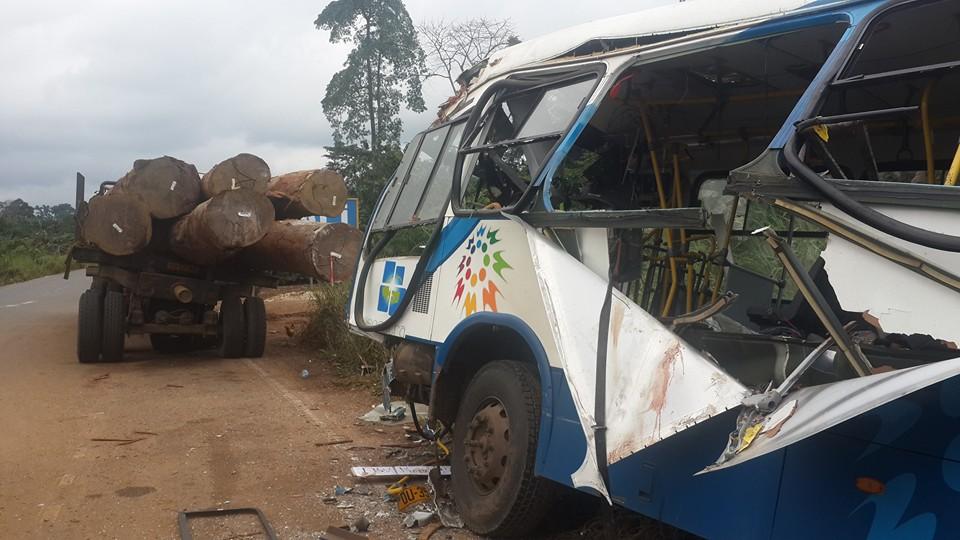 Plusieurs blessés graves dans trois accidents de circulation dont un impliquant SOGATRA