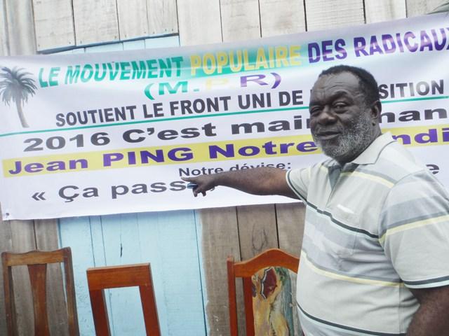 Féfé Onanga, un soutien de Jean Ping, en liberté provisoire