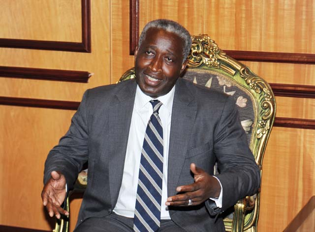 L'ancien premier ministre gabonais, Raymond Ndong Sima @ DR