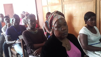 Quelques participants à la conférence de presse @ Gabonactu.com