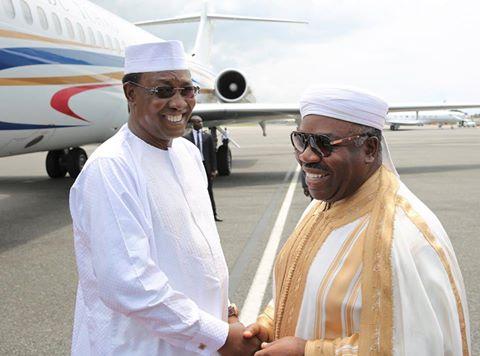Journée très heureuse pour Ali Bongo visité par Idriss Déby et Paul Kagamé