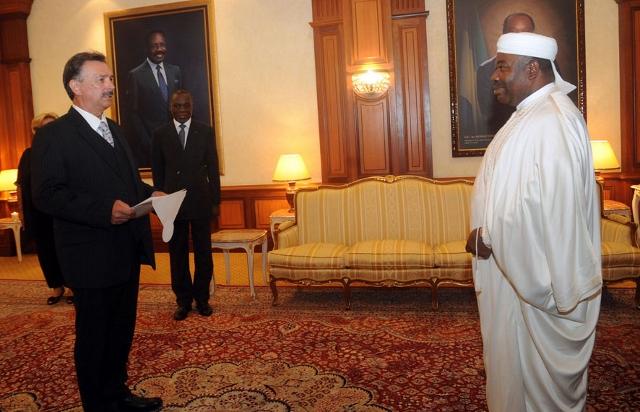 Des nouveaux ambassadeurs du Rwanda et d'Allemagne au Gabon