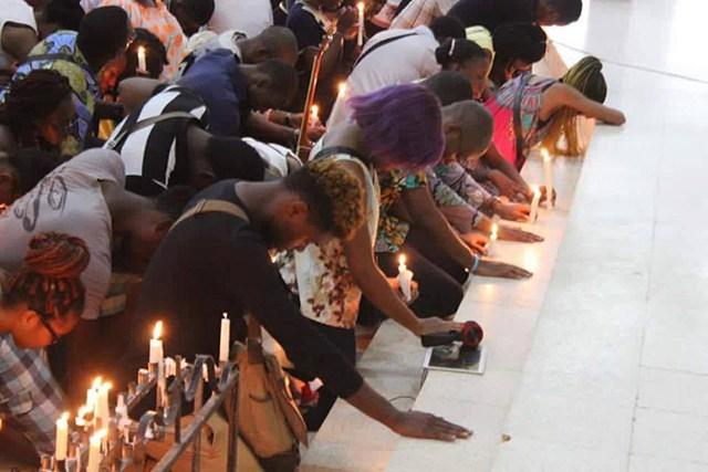 Journée de recueillement : des gabonais de France ont répondu à l'appel de Ping