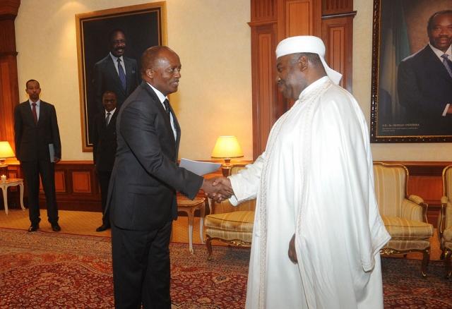 Jean-Baptiste-habyalimana, ambassadeur du Rwanda au Gabon @ DCP
