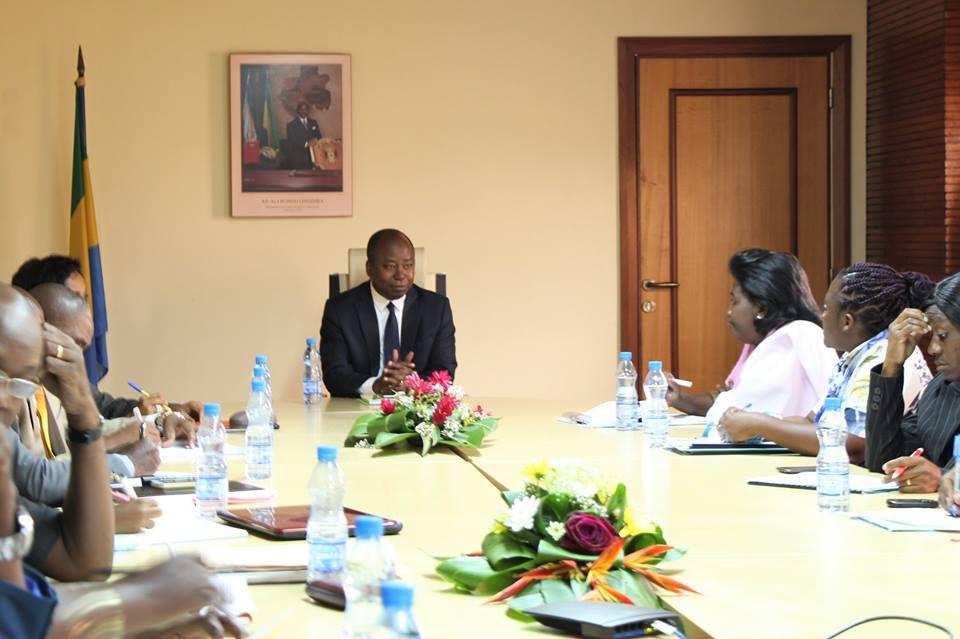 La réunion qui a sonné l'accalmie ce mercredi à Libreville @ Facebook Alain Claude Bilie By Nze