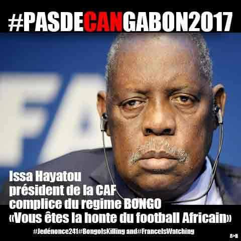 Campagne anti CAN 2017 et anti Total Gabon