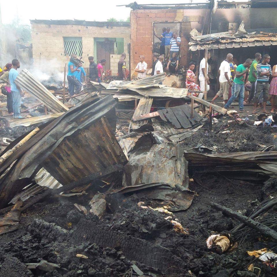 Incendie du marché de Potos : odeur d'accident et de crime