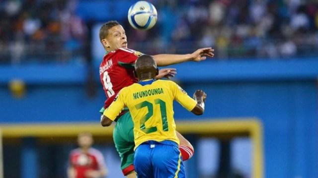 Score amical entre le Gabon et le Maroc (0-0)