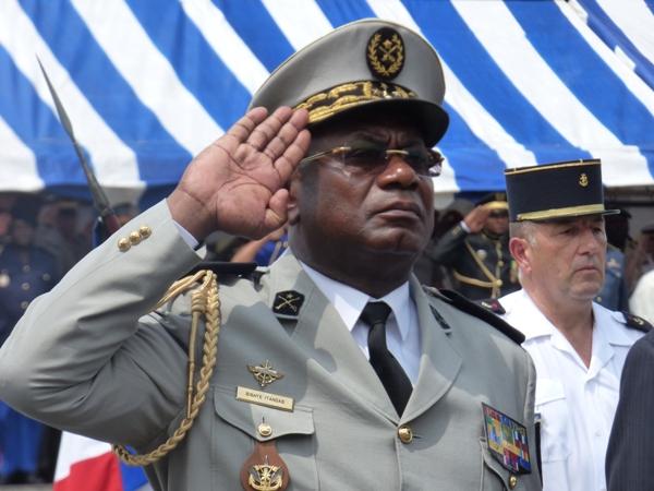 Le général Auguste Roger Bibaye Itandas, chef d'état major général des forces armées gabonaises @ Gabonactu.com