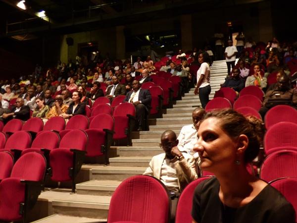 Une vue partielle des participants à la cérémonie d'ouverture @ Gabonactu.com
