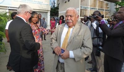 Quelques convives de la cérémonie inaugurale de l'exposition @ Gabonactu.com