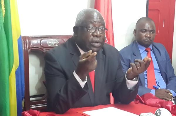 Mathieu Mboumba Nziengui menace de radiation les élus UPGistes qui suivent Bruno Ben Moumba