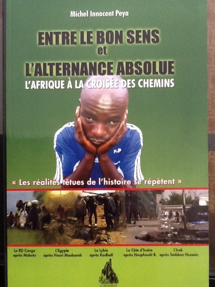 La couverture du dernier livre de Michel Innocent PEYA @ DR