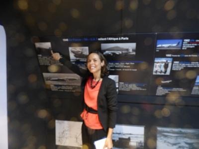 Des jolies hotesses pour visiter l'expo @ Gabonactu.com