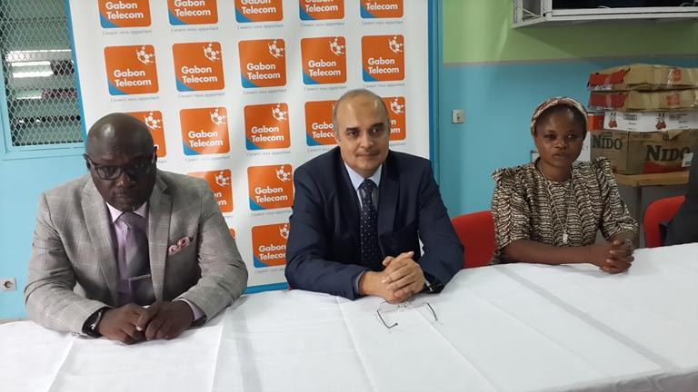 Le patron de Gabon Télécom a exhorté les pensionnaires de faire bon usage du matériel informatique @ Gabonactu.com