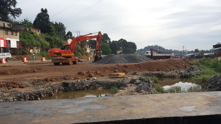 Aménagement de l'axe PK5-PK12 : les travaux arrêtés faute de financement