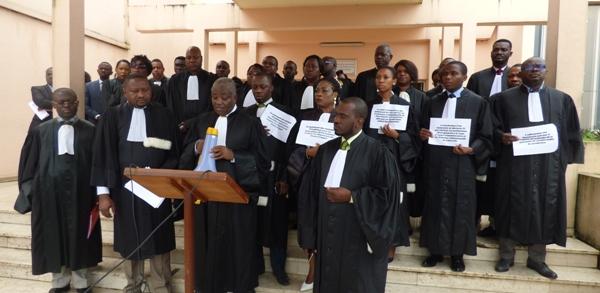 Les magistrats en grève d'avertissement de 15 jours