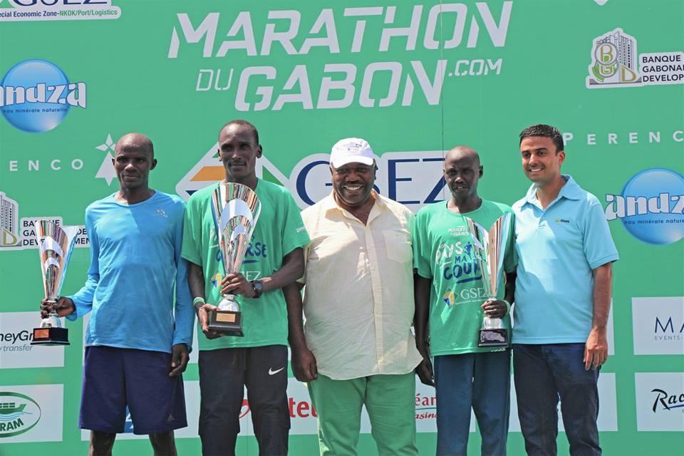 Un nouveau kenyan règne sur le marathon du Gabon