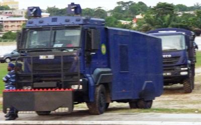 La police a tout prévu @ Gabonactu.com