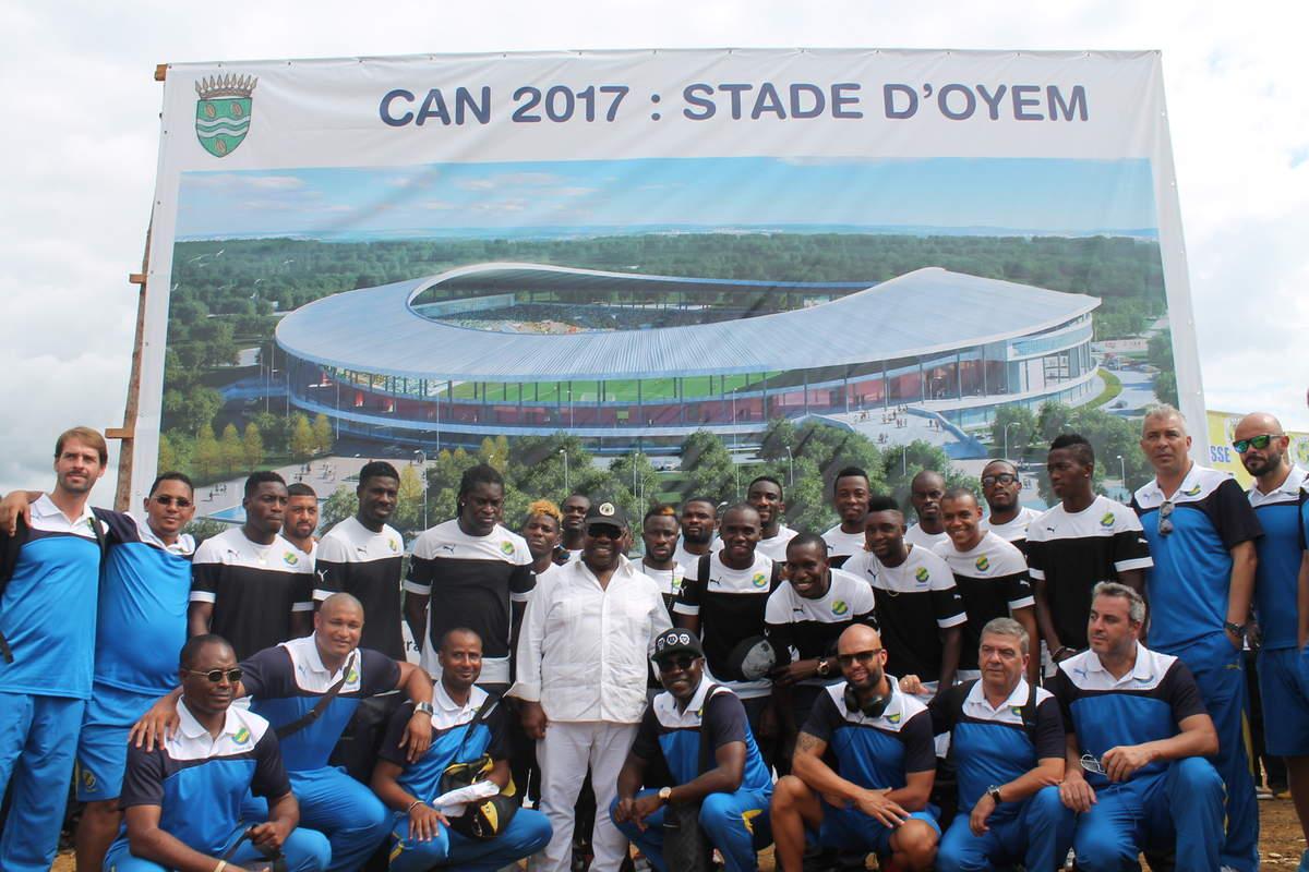 CAN Total Gabon 2017 : les travaux du stade d'Oyem arrêtés suite à une grogne des paysans