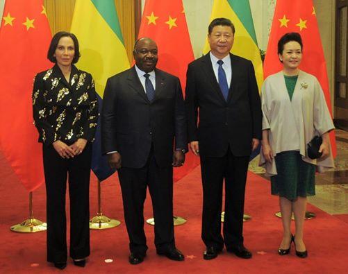Chine : tapis rouge pour Ali Bongo à Pékin