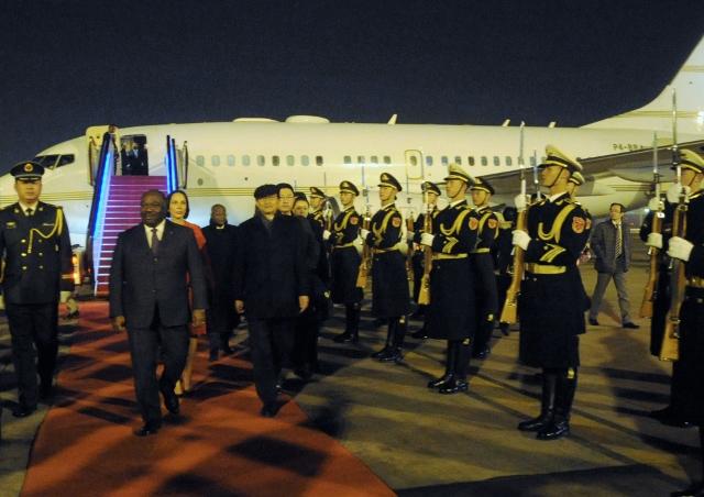 Ali Bongo Ondimba en tête à tête mercredi avec Xi Jinping à Pékin