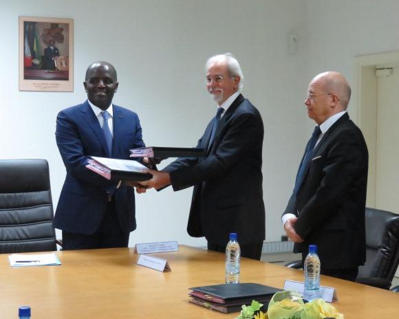 L'AFD accorde un prêt de 61 milliards de FCFA pour réhabiliter le Transgabonais