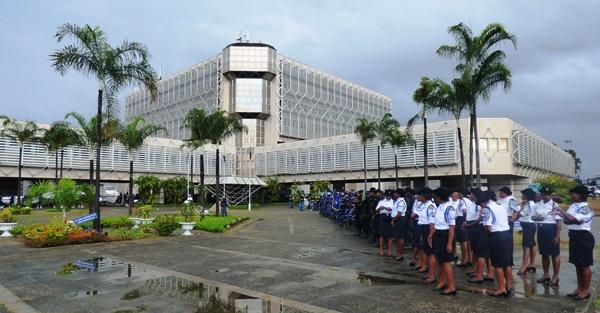 Une vue du siège du ministère de l'Intérieur @ Gabonactu.com