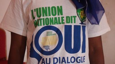 Une partisane d'Estelle Ondo @ Gabonactu.com