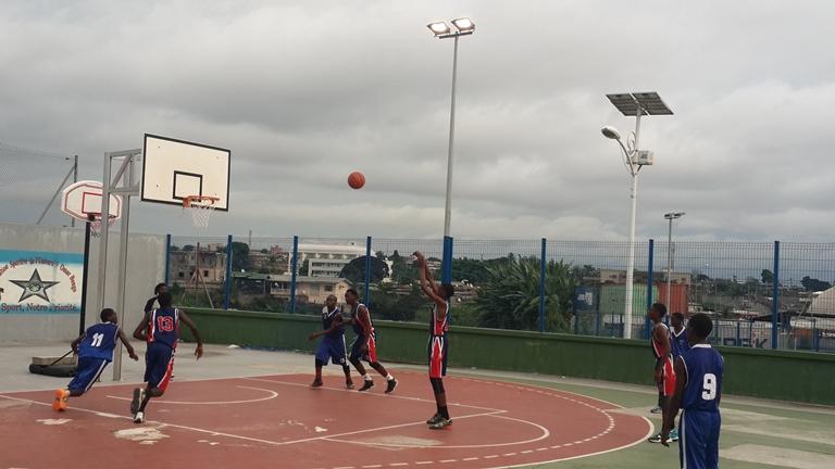 Les jeunes basketteurs ont rivalisé des talents @ Gabonactu.com