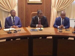 11 partis ayant soutenu Jean Ping en consultation chez le 1er ministre pour dialoguer avec Ali Bongo