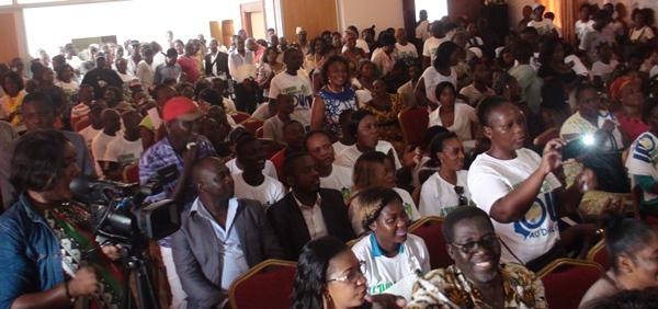 Les partisans en liesse @ Gabonactu.com