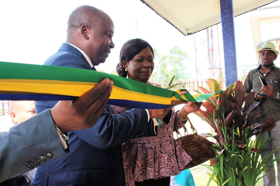 Inauguration à Libreville d'un centre d'enseignement à distance