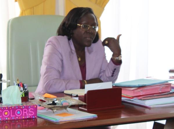 Nicole Assélé, Ministre de la Jeunesse et des Sports @ Com Ministère