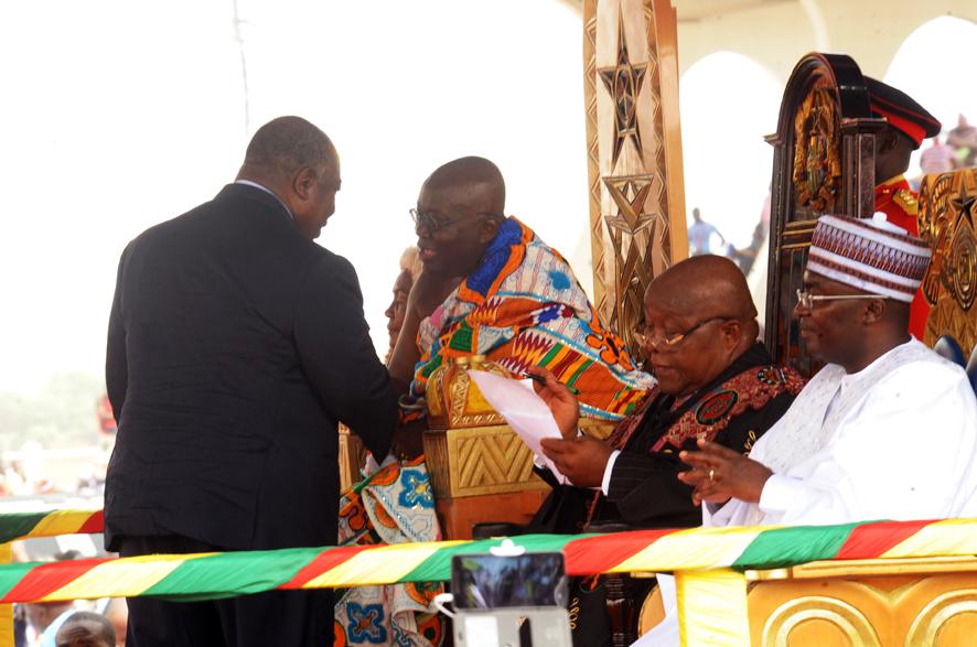 Ali Bongo était à l'investiture du nouveau président du Ghana Nana Addo Dankwa Akufo-Addo