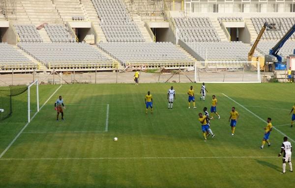 Les Panthères battus 1-2 par le CF Mounana en match amical