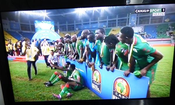 CAN 2017 : le Burkina Faso termine 3ème au classement général