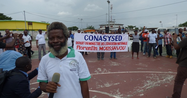 La CONASYSED durcit sa grève et demande le limogeage du ministre de l'Éducation nationale