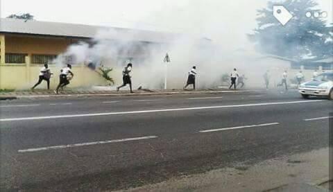 Crise dans l'éducation : ca a chauffé à Port-Gentil, Lambaréné et Oyem