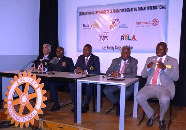 Célébration à Libreville des cent ans de la Fondation Rotary