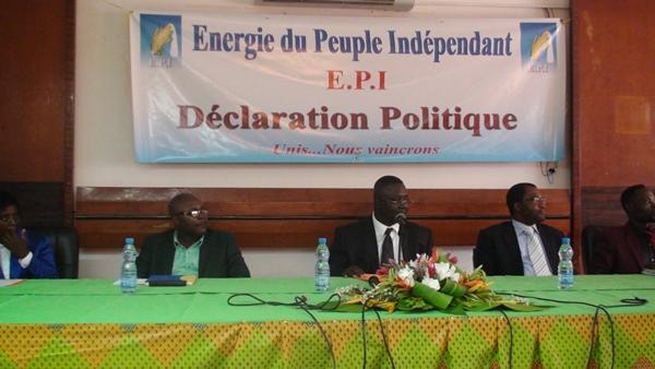 Dialogue politique : Mayombo Mbendjangoye et son EPI bottent en touche