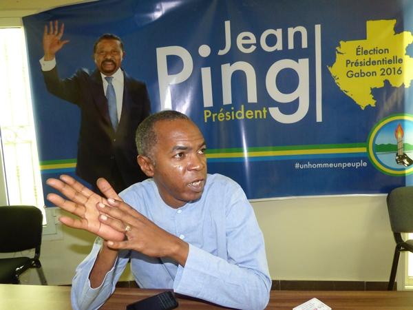 Jean Gaspard Ntoutoume Ayi rêve de devenir député
