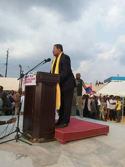 Jean Ping et sa galaxie à Oyem pour mobiliser contre le dialogue d'Ali Bongo