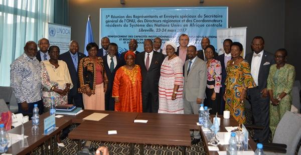 Fin à Libreville de la 5e réunion annuelle des chefs de l'ONU en Afrique centrale